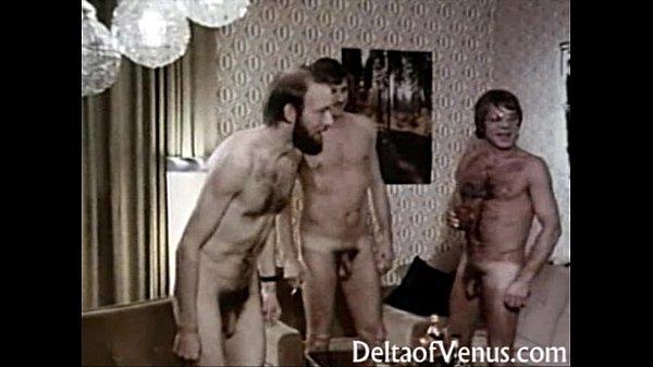 Порно ретро европейское