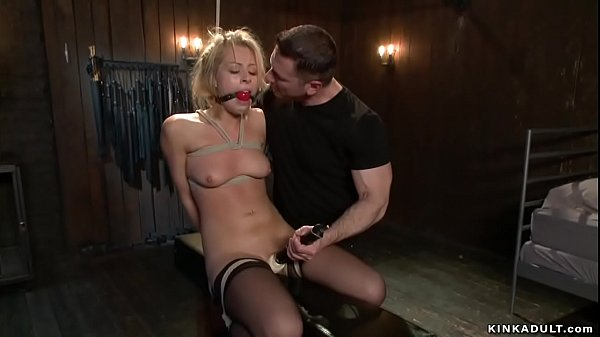 Blonde inspector bdsm anal fucked