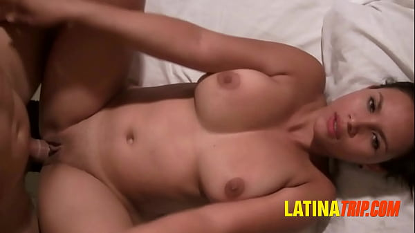 Desperate Latina Babe Sucking Cock for Easy Money