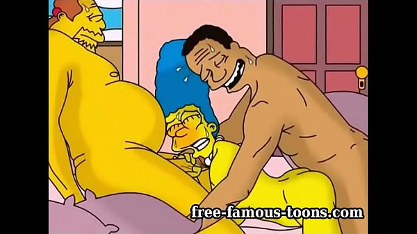 Marge Simpson cheating wife