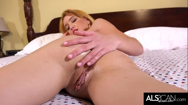 Russian Babe Moans with Delight Cumming in Bed