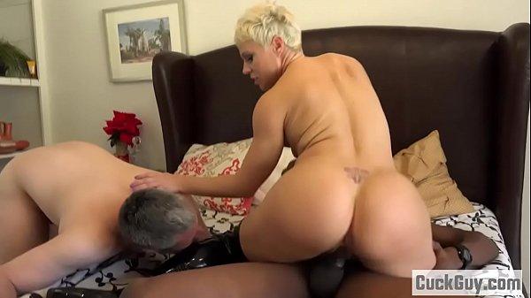 Helena Locke turns her husband into cum eating ...