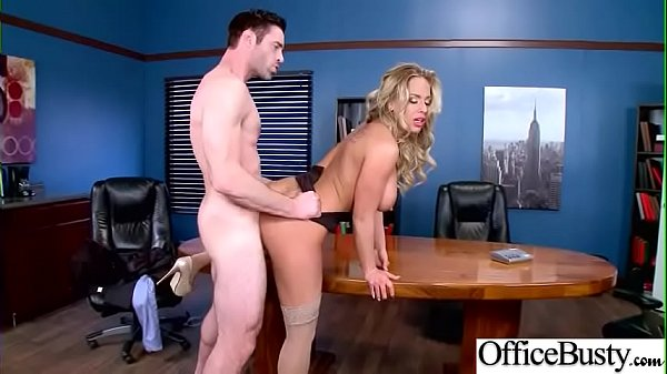 Sex Scene In Office With Hot Busty Superb Girl (Olivia Austin) video-22