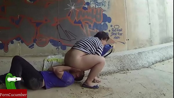 Chubby girl fucked in a tunnel. RAF130