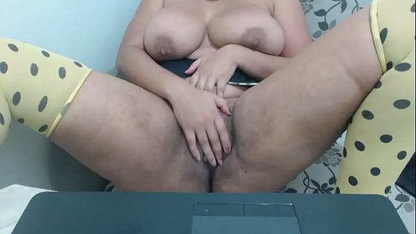 camgirl na webcam