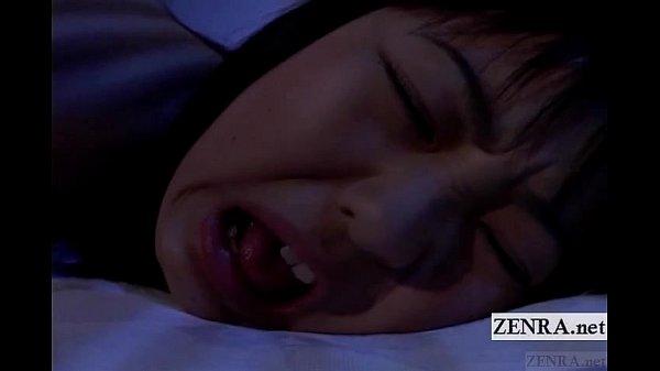 Subtitled uncensored nocturnal Japan schoolgirl rimjob Thumb