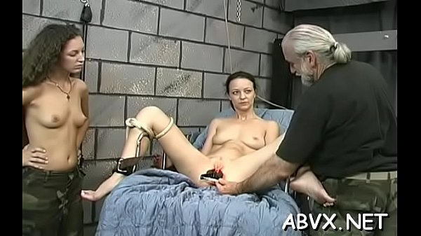 Bare chicks roughly playing in bondage xxx amateur video Thumb