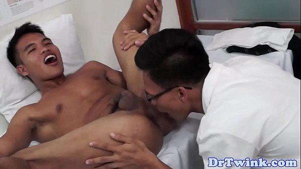 My nurse rubbing my cock