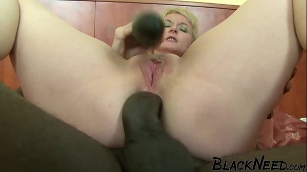 9 Inch Black Cock Ass Fucking The Blonde MILF