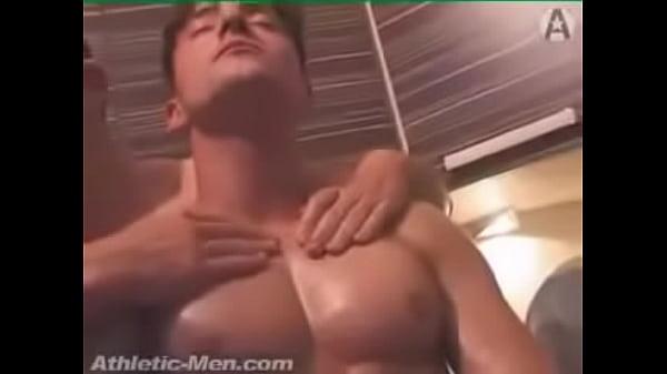 Have faced Sexy big pecs men porn know one