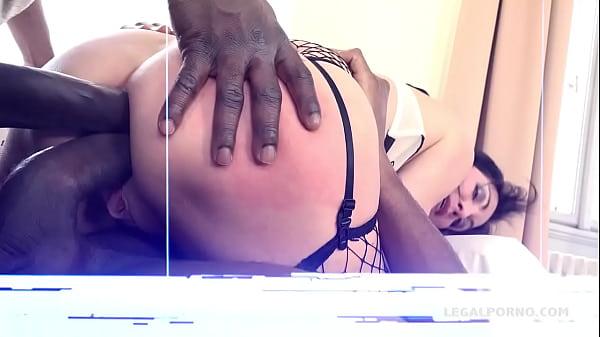 Italian Milf Sissy Neri Takes all the Big Black Cock she can handle.