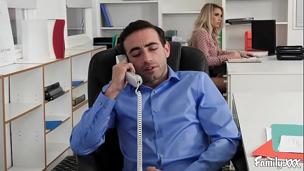 Natural Tits Carmen Caliente Gets Fucked In The Office By Her Stepbrother Thumb