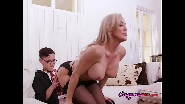 Teen Catches Stepmom Riding Her Well Hung BF