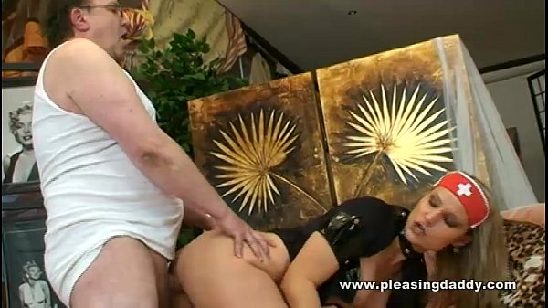 Slutty Nurse Takes Care Of Her Sick Daddy