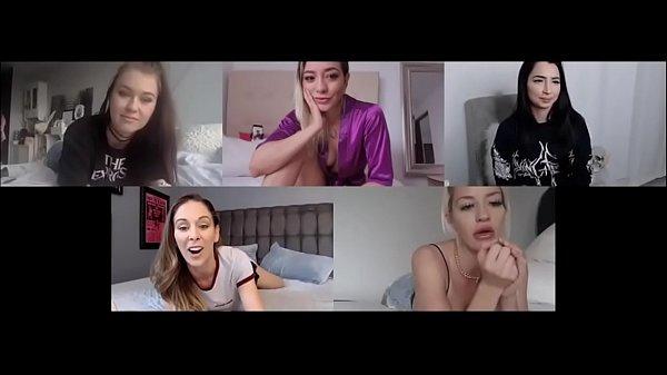 5 sluts business meeting! - Anastaxia Lynn Thumb