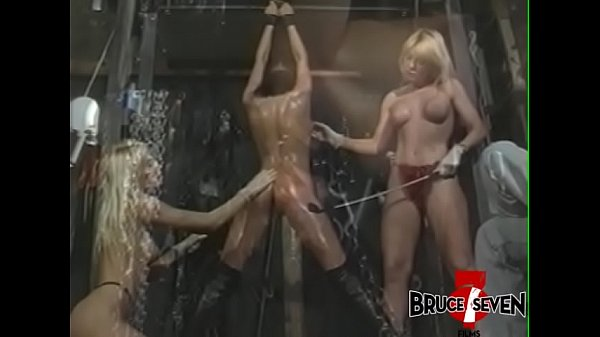 BRUCESEVENFILMS - Yvonne takes part in rough BDSM spanking Thumb