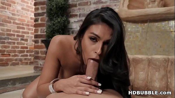 Katana Kombat shaking her latina ass on a big dick