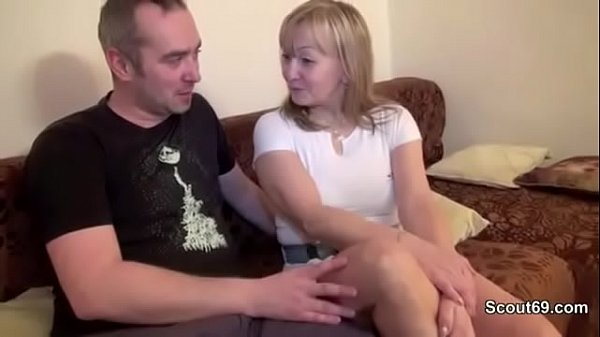 Hot Blonde Wife with Hairy Pussy Fuck and Homemade Cumshot