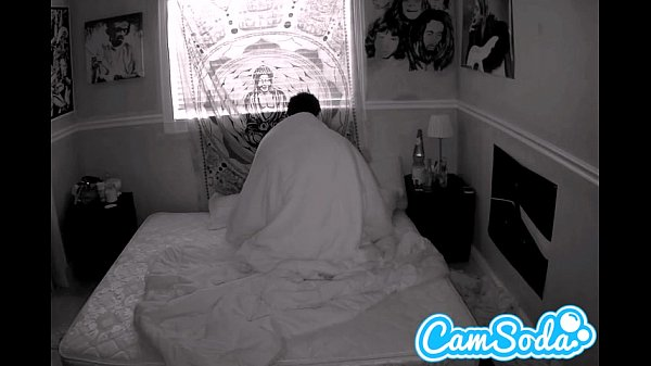 camgirl gets filmed fucking her boyfriend with night vision cam Thumb