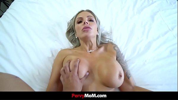 Horny Stepmom Sucks and Fucks Her Hung Stepson Thumb