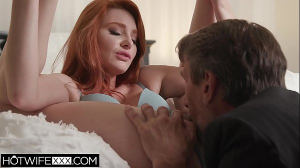 Sexy Redhead Shared Wife Lacy Lennon Fucks Another Big Cock Thumb