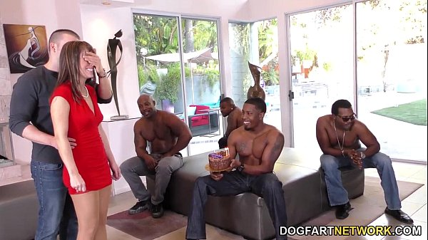 Birthday Gangbang with Sexy Mom Alana Cruise Thumb
