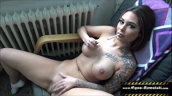 Horny she jerks her pussy in front of me Thumb