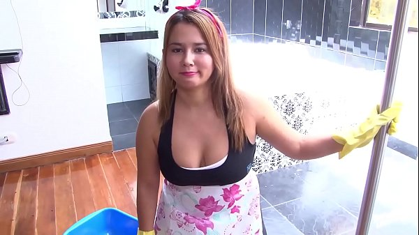 MAMACITAZ - #Angela Rodriguez - Surprise Sex For Chubby Latina Maid