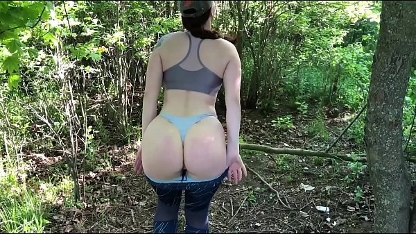 Sex with a stranger in a public park and swallow cum KleoModel Thumb