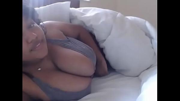 Thick ebony I met on Ebonyso.com with amazing big boobs