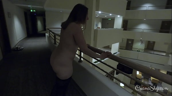 Dared naked in the hotel Thumb