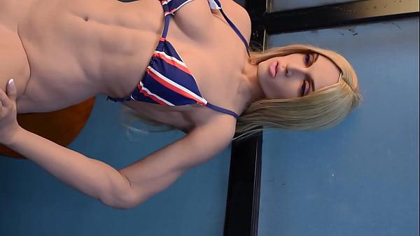 Milf Sex doll Muscle Linda