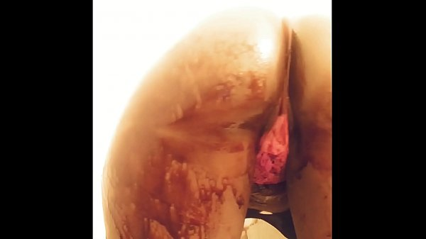 Boomerang and bust it back chocolate syrup covering my ass double videos Thumb