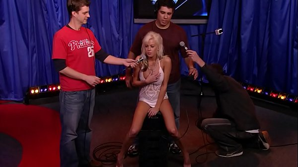 23 year old Andrea Miss Howard Stern 2006 rides the sybian Thumb