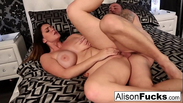 Alison Tyler's wet throbbing pussy gets stuffed by Chad Thumb