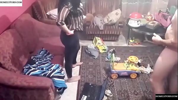 Spy camera records couple fucking in the living room. JAV245 Thumb