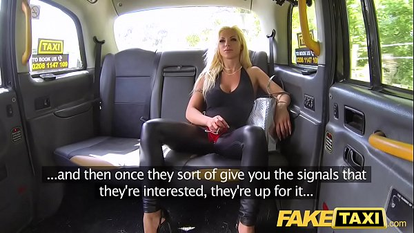 Fake Taxi Training the new female taxi driver in backseat threesome Thumb