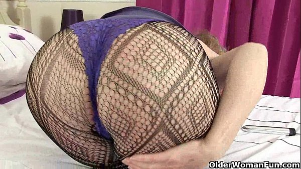 British grannies Diana and Pearl going solo in fishnets
