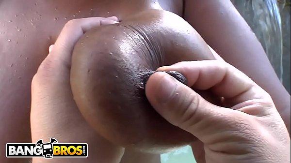 BANGBROS - Busty Black Pornstar Tori Taylor Takes Dick Like A Champ