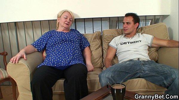 60 years old granny sucks and rides Thumb