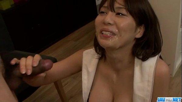 Karen Natsuhara, hot milf, goed nasty on a large cock  - More at Javhd.net