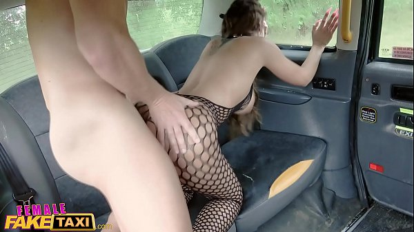 Female Fake Taxi Two guys give Princess Jas loud orgasms