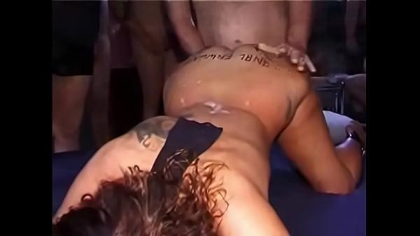 Amateur Anal & Pussy 30-man Creampie Gangbang  thumbnail