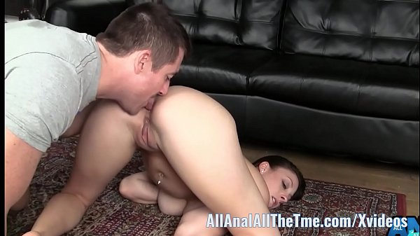 Busty Babe Melanie Hicks Gets Ass Worshiped at AllAnal!