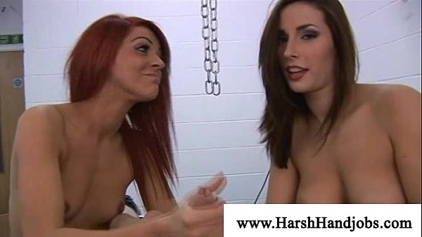 Megain paige and paige turnah punishing a cock