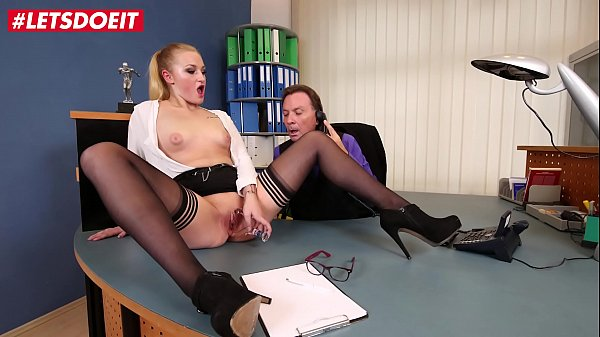 LETSDOEIT - Big Ass Teen Secretary Scarlett Scott Loves To Ride The Big Cock Of Her Boss
