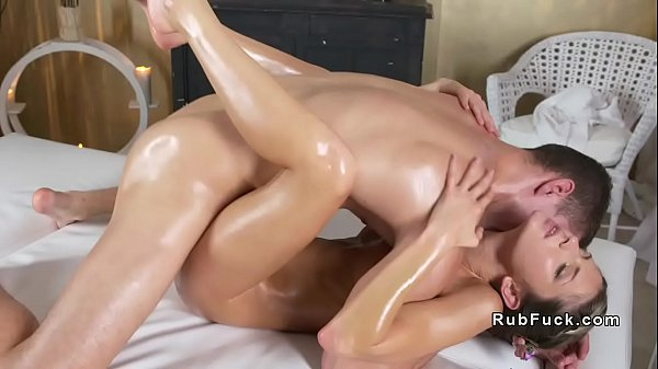 Muscled masseur gets blowjob and fuck Thumb