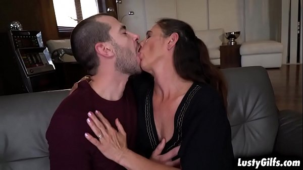 Hot stud John Price is attracted to his granny neighbor Mariana and fucks her mature pussy like a young stallion he is.