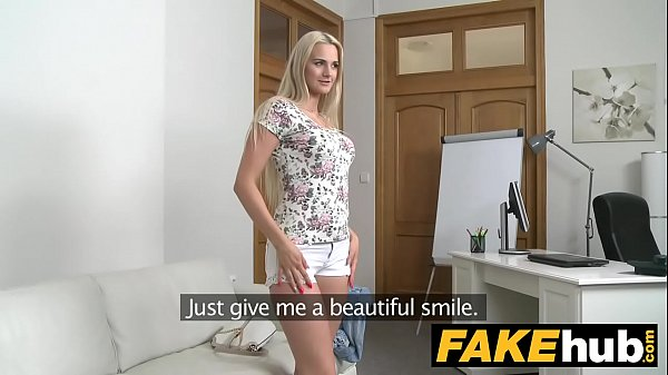 Fake Agent - Blonde Beauty in Casting Couch fuck Thumb