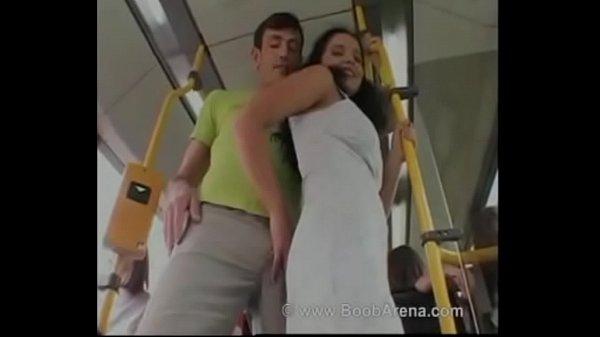 passenger fucking with stranger inside the bus